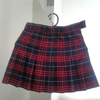 American Apparel Matilda Plaid Tennis Skirt
