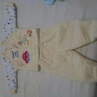嬰兒鋪棉套裝