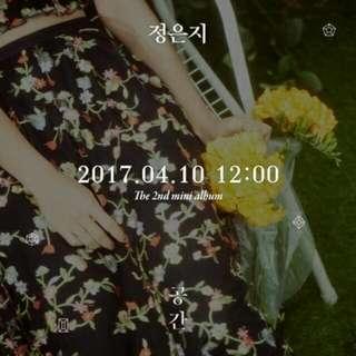Apink Jung Eunji 2nd Mini Album - Space