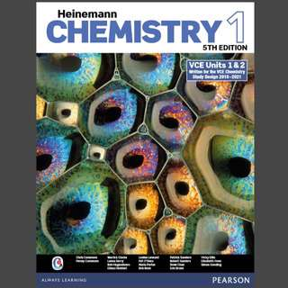 Heinemann Chemistry 1 VCE Units 1 & 2 (5th edition)