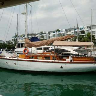 Half share -  $55,000 now. Sailing Yacht