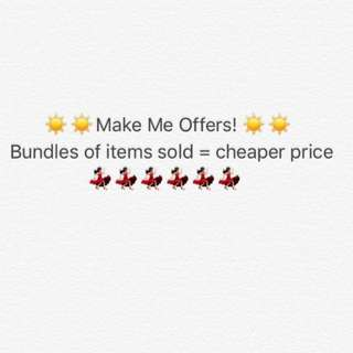 Check My Profile & Make Me Offers!! Bundle Prices For Bulk Items