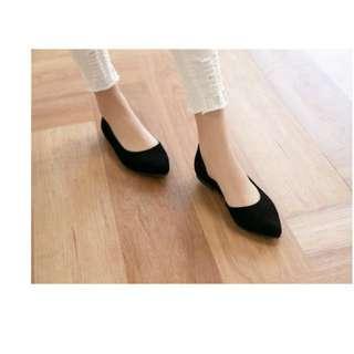 #女裝九九出清  最後一雙❤️送面膜❤️原價520✨全新37號 韓版尖頭鞋
