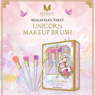 MERVE Unicorn Make Up Brush