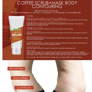 Naturacentials Coffee Scrub + Mask Body Contouring