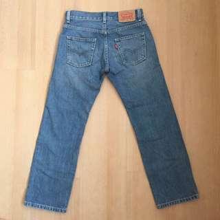 免運👉🏼Levi's 505 直筒牛仔褲 W25