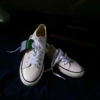 Authentic White Converse