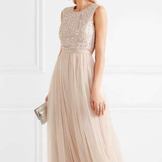 Needle & Thread Long Evening Dress Tulle Gown