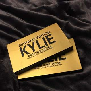 Kylie Birthday Edition Mini Mattes