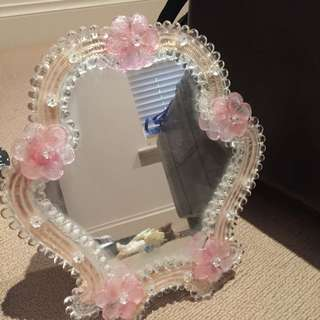 Flower Face Mirror