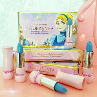 MERVE Cinderevfa Blue Magic Lipstick