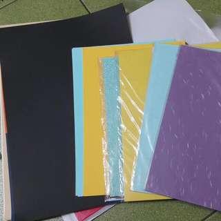 粉彩紙跟採畫紙