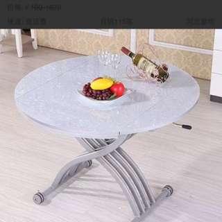 多功能升降伸縮茶幾餐桌 折疊餐桌 飯枱 飯台 變形餐桌 變形飯台 dining table dining desk collapsible table folding table