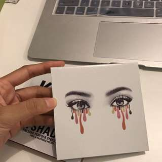 Kylie eyeshadow kyshadow burgundy palette