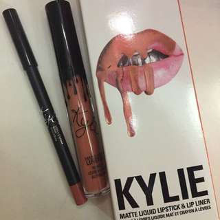 Kylie Lip Kit - Dirty Peach