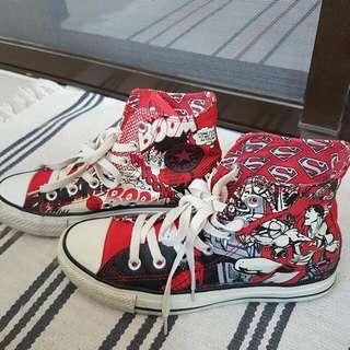 Converse All Star 限量 Superman 超人布鞋便鞋