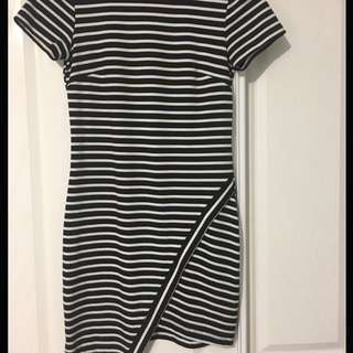 Bec and Bridge Striped Dress -size 10