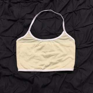 Cream Crop Size S