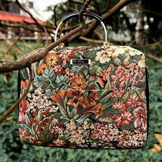 [RESERVED FOR @FLUFFKIN] Charles & Keith Tapestry Bag