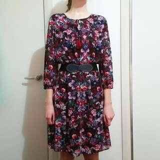 Diana Ferrari Floral Dress