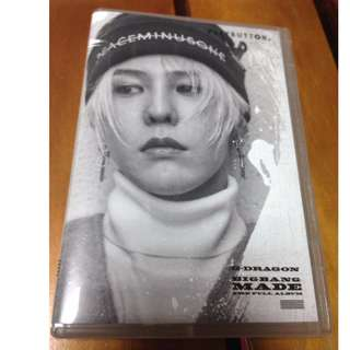 BIGBANG MADE playbutton(GD款)