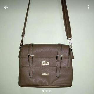 Unisa khaki medium satchel
