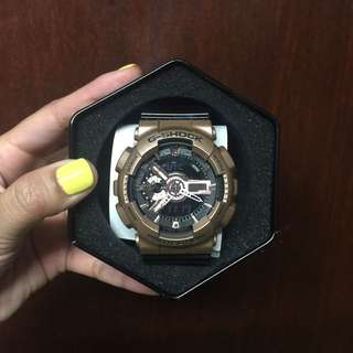 Authentic Two-tone G Shock Watch