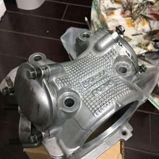 勁戰 Gtr 改裝59缸頭 全新鍛造汽門 油封