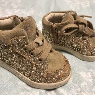 Country Road Size 22 Glitter Boots Baby Shoes Girl