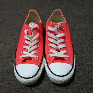 Neon Orange Converse All Star