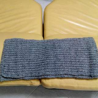 Mohair Scarf - Grey In Colour