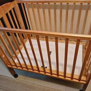 0/3 Baby Cot (Sara) + Mattress