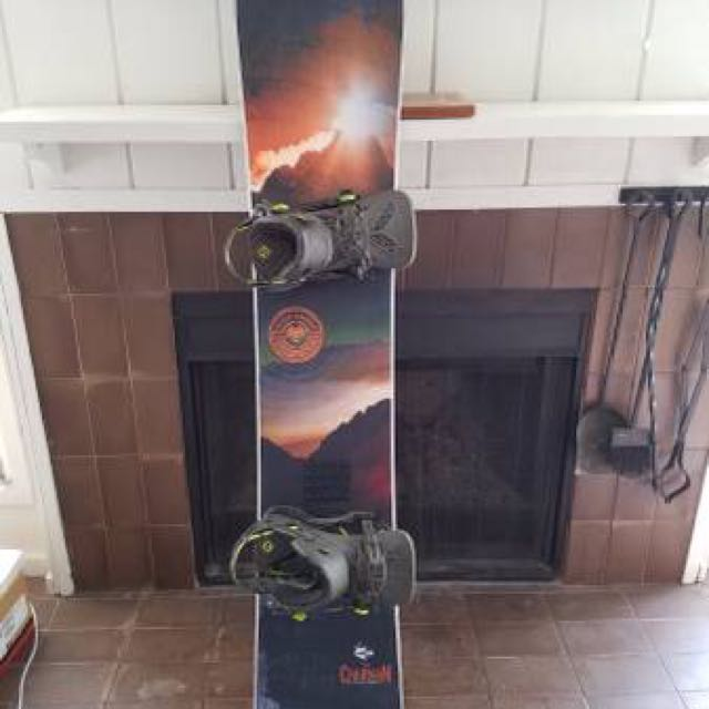 2017 Never Summer Chairman 164 Snow Board Winter Sports