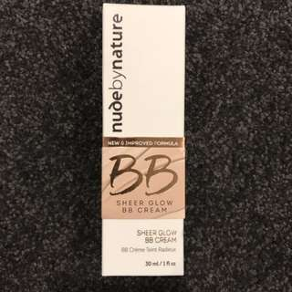 Nude by Nature Sheer Glow BB Cream 01 Porcelain