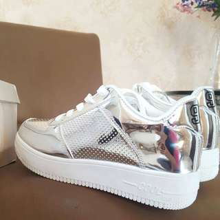 Metalic Casual Shoes (New)