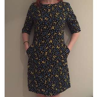 trendy gorman dress (size 8) feat. pockets