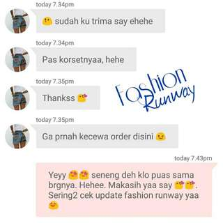 FASHION RUNWAY TESTIMONIAL