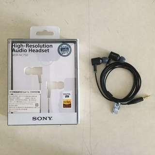 Sony降噪耳機 MDR-NC750