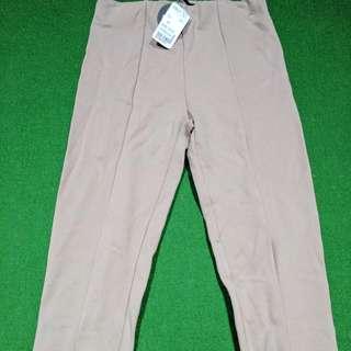 Pant Long Knit TAUPE Size XS