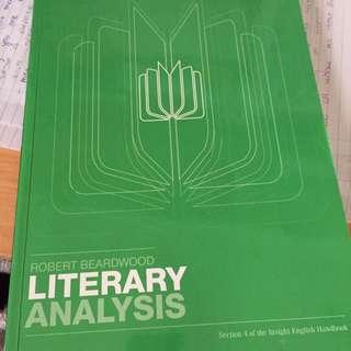 Literary Analysis (Literature/English)