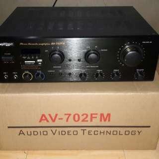 Konzert Karaoke Amplifier Av702Fm