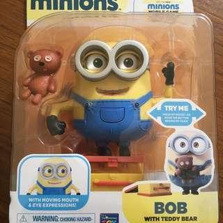 MINIONS小小兵豪華收藏公仔系列 包裝完整 BOB