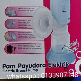 Fiffy electric breastpump, head and body support