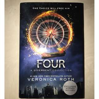 FOUR - A Divergent Collection by Veronica Roth [HARDCOVER]