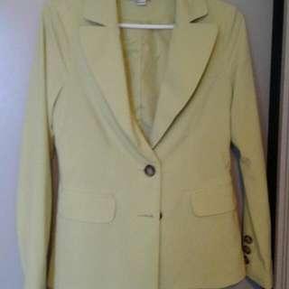 Light Green Blazer Size M