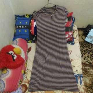 Dress Lengan Pendek