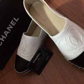 🎀全新🎀 CHANEL 香奈兒 鉛筆鞋 *做工精細 高官材質*(白色)