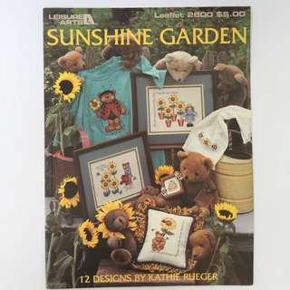 Cross Stitch Leaflet: Sunshine Garden
