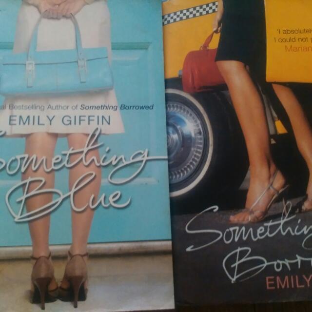 2 Emily Giffin Books