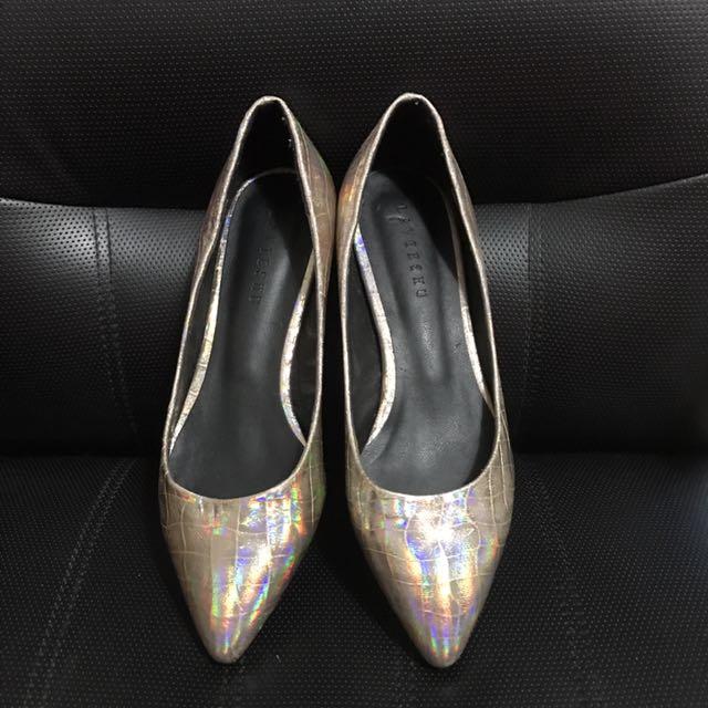 專櫃淑女低跟鞋